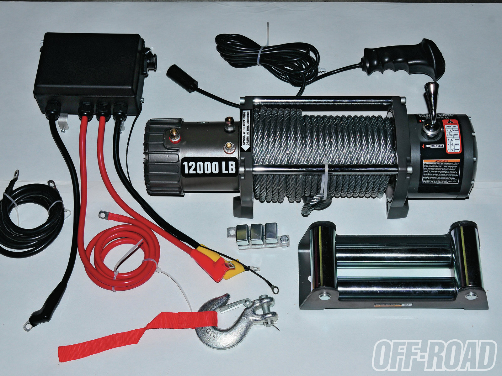hight resolution of badlands 12 000 pound winch the best deal in winching