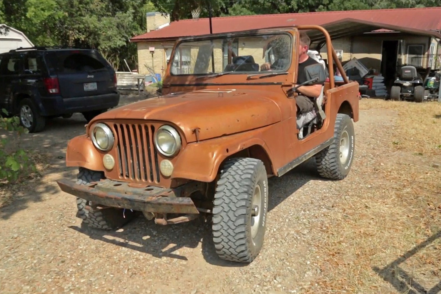 medium resolution of jeep cj7 getting rewired right off the bat the old cj7 needed a little hot wiring to get the