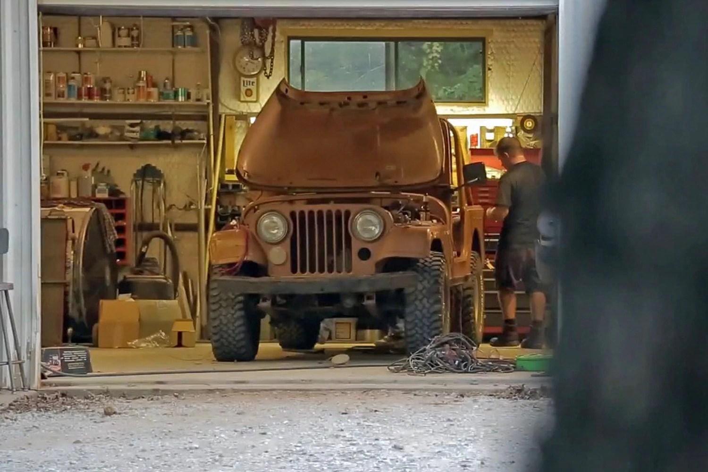 hight resolution of jeep cj7 getting rewired