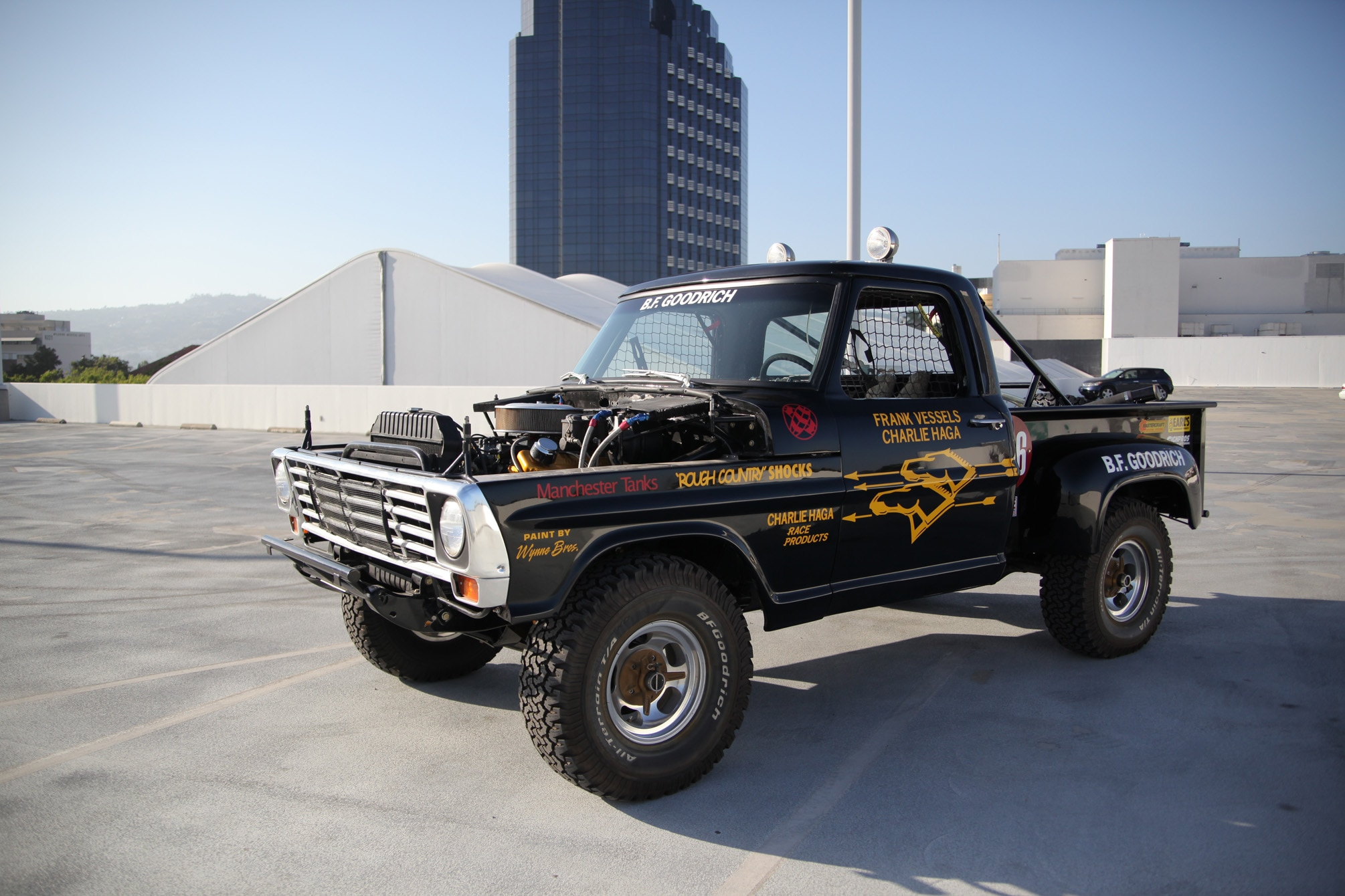 hight resolution of frank scoop vessels 1972 ford f100 race truck goes to auction