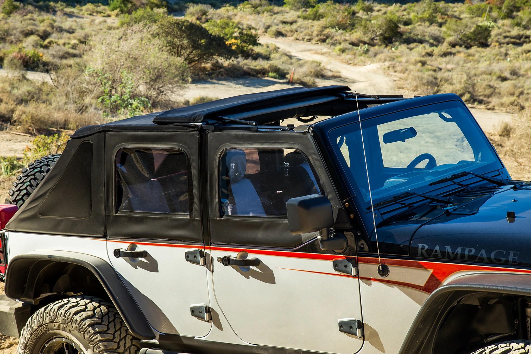 medium resolution of  005 rampage frameless plus trail top 006 dynatrac progrip ii jeep jk brake upgrade kit 007 painless performance jeep cj wiring