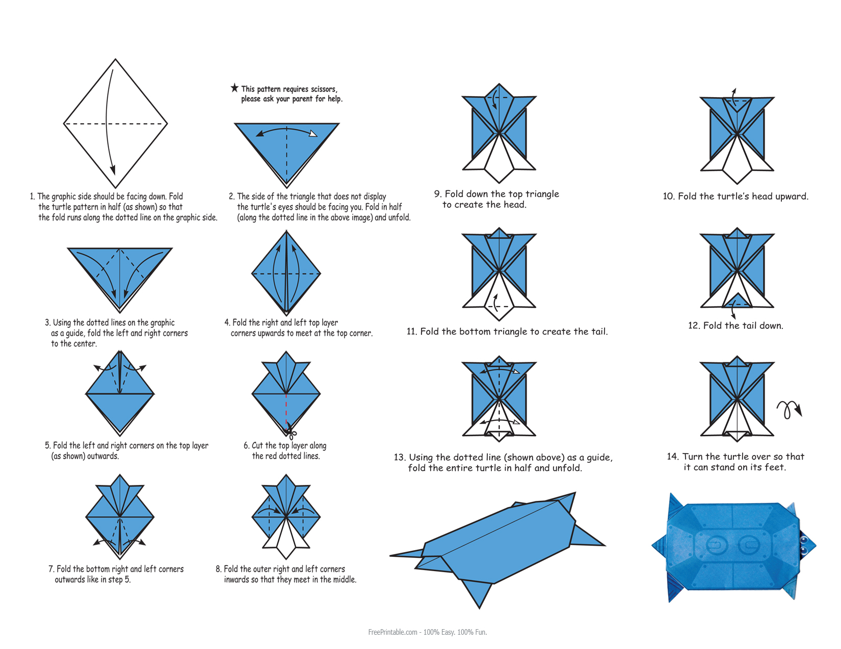 paper origami turtle diagram mitsubishi eclipse stereo wiring instructions pdf driverlayer search engine