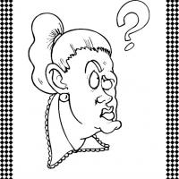 Confused Emotion Flash Card