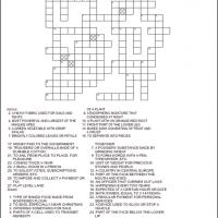 Printable Crossword Puzzles: May 2013