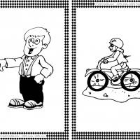 Printable bikes coloring pages Trials Ireland