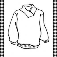 Sweater Flash Card