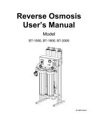Flexeon BT-2000 Commercial Reverse Osmosis System 2000 gpd