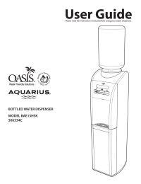 Oasis BAE1SHSK Aquarius Free Standing Top Load Water