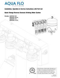 Pura 41407003 Quick Change RO Membrane 50 gpd