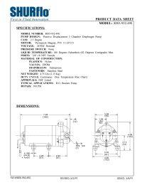 SHURflo 8005-952-490 RO Booster Pump 50 GPD 100 PSI Bypass