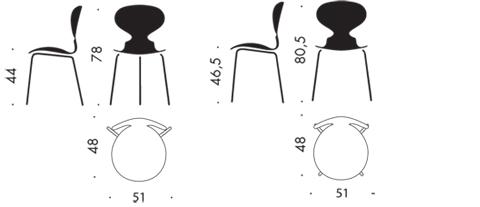 arne jacobsen egg chair royal blue spandex folding covers ant - 3100, 3 legs, stackable fritz hansen