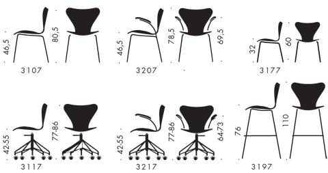 arne jacobsen swan chair vinyl folding chairs series 7 - 3107, chair, lacquered fritz hansen