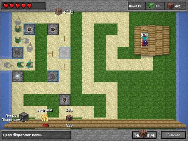 Zombie Defense Minecraft