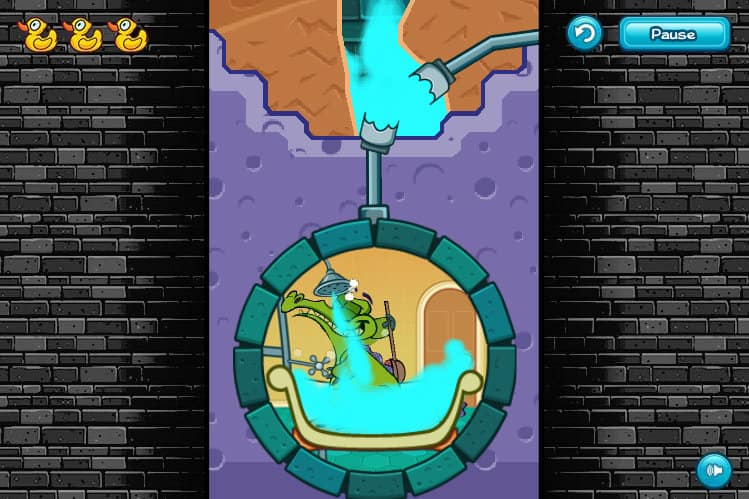 free kitchen games counter designs where's my water? game - funnygames.in