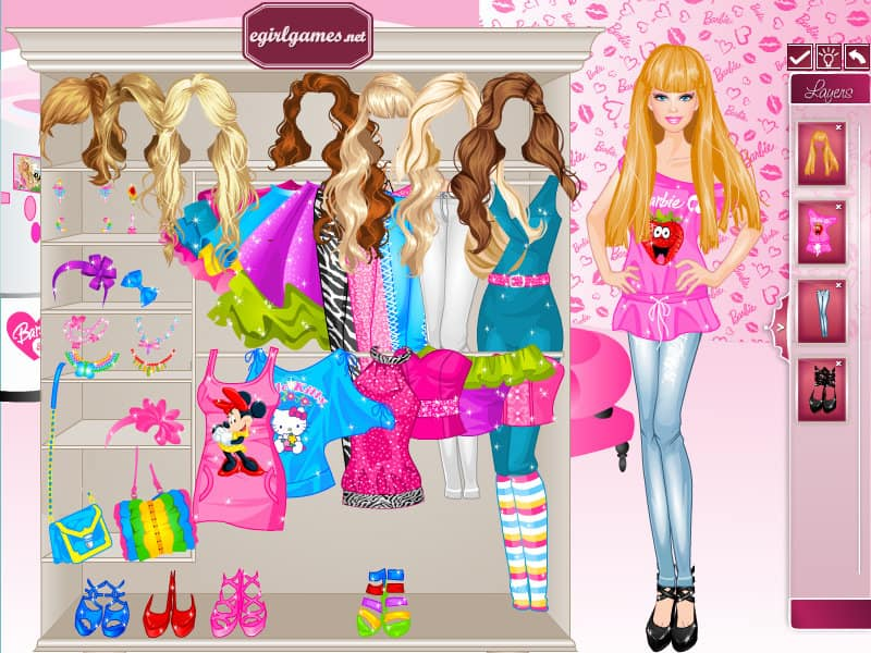 Barbie Dress Up Game Funnygames Us