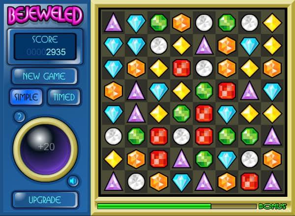 Bejeweled 1 Game FunnyGamesus
