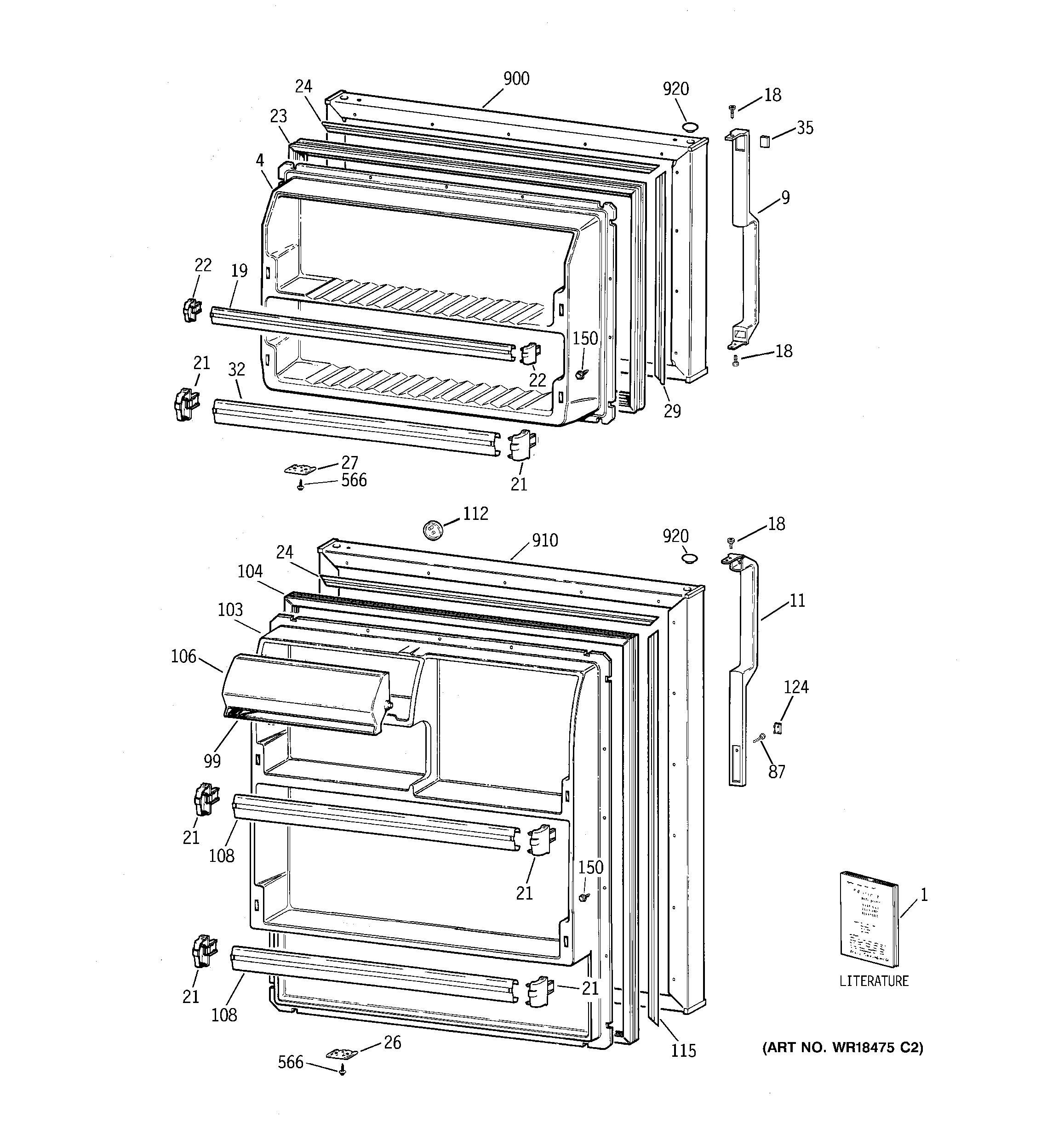 Ge Tbx21j Refrigerator Wiring Diagram
