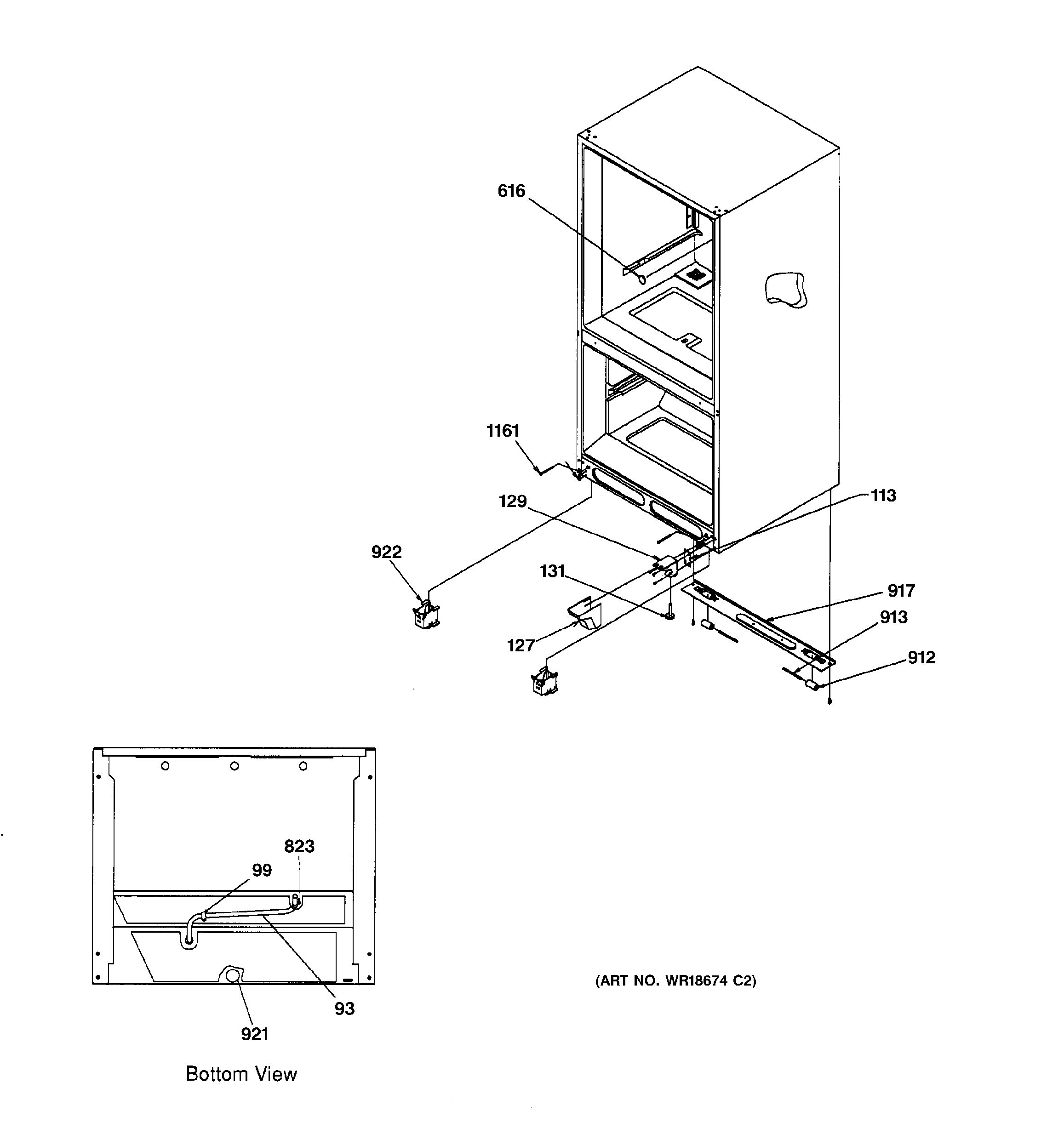 Assembly View For Insulation Amp Roller Assembly