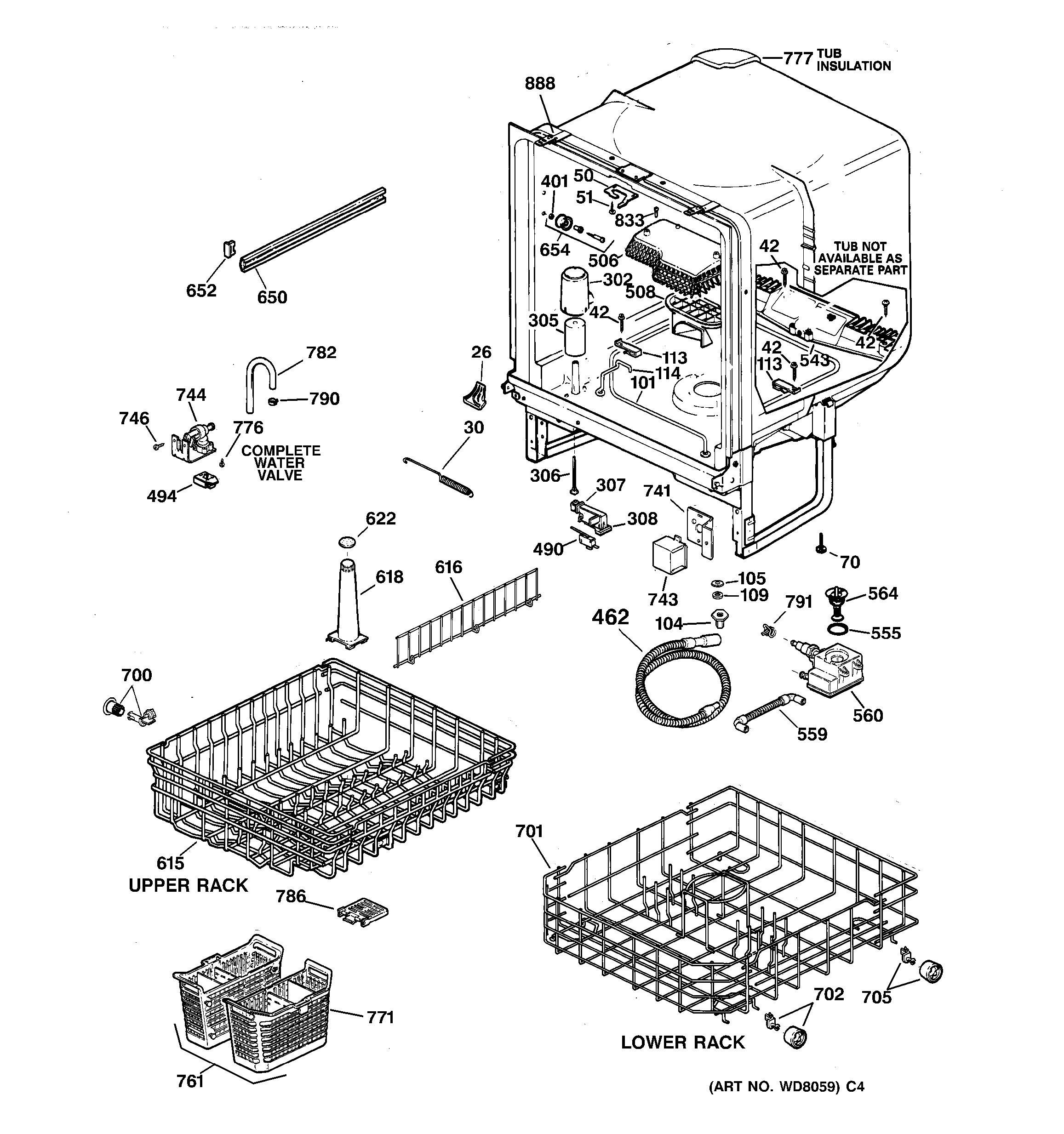 Ge Triton Xl Dishwasher Wiring Diagram Solenoid Triton