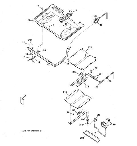 Gas Burner: Gas Burner Assembly Parts