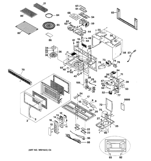 ge spacemaker microwave parts diagram 1973 evinrude ignition switch wiring model search | jvm1851wd002