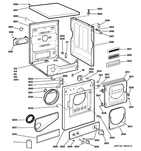 Ge Clothes Dryer Repair Manual
