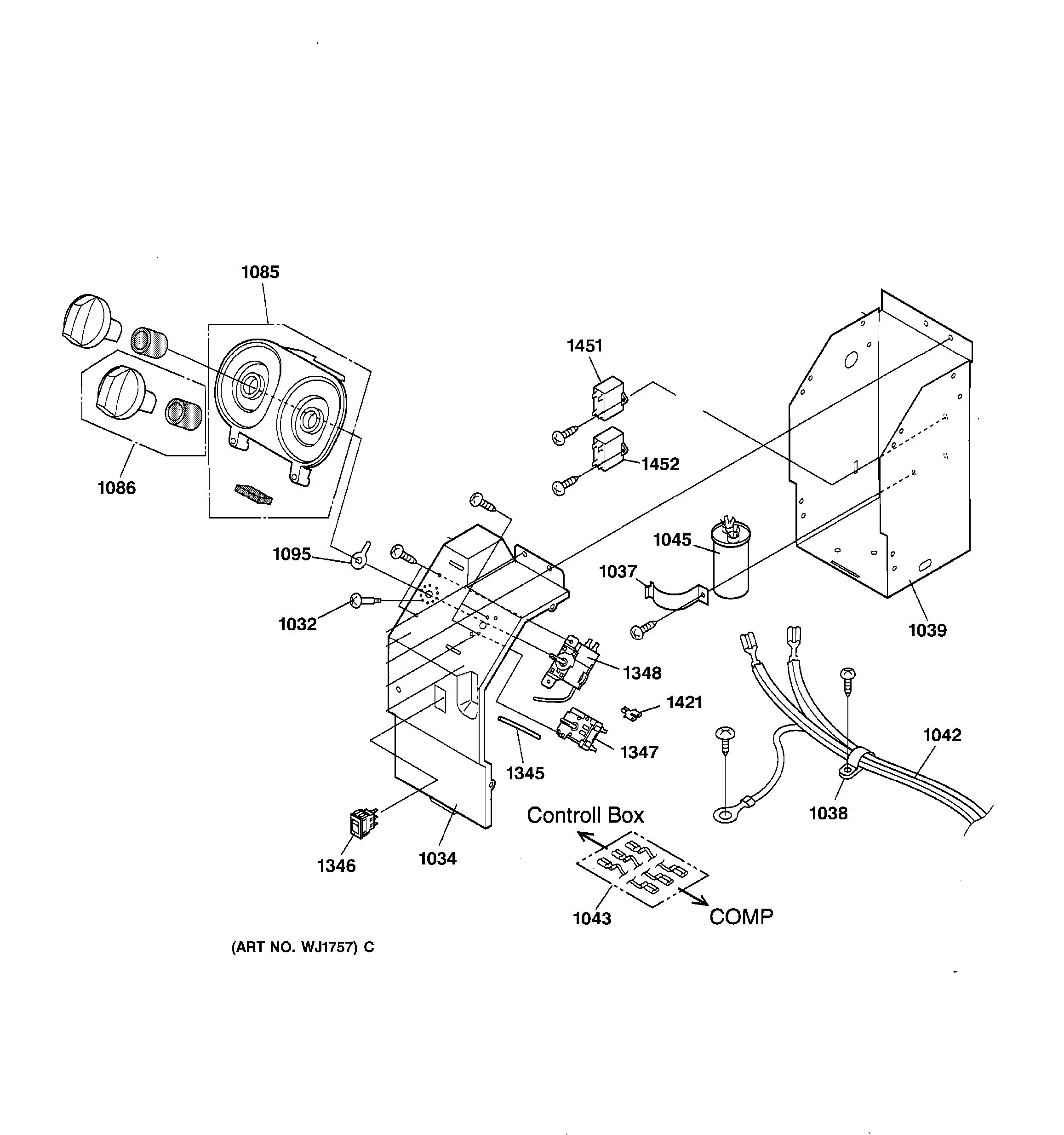 Assembly View For Control Parts