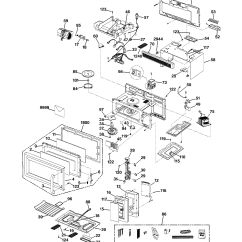 Ge Spacemaker Microwave Parts Diagram Discovery 2 Electrical Wiring Assembly View For Jvm1533wd002