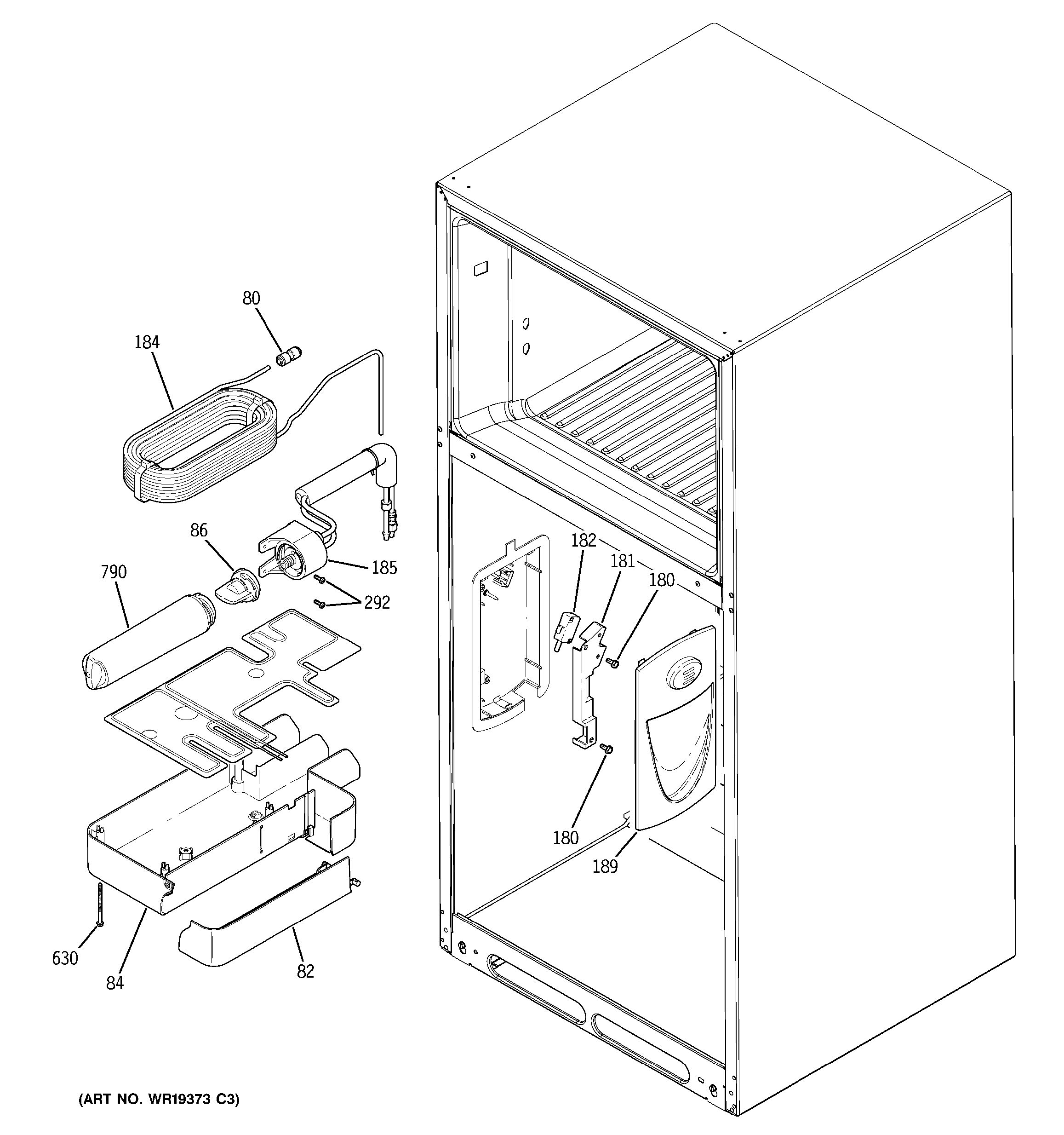 Assembly View For Water Filtration Amp Dispenser