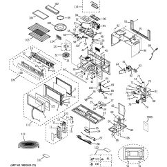 Ge Profile Microwave Parts Diagram Pioneer Deh P2000 Wiring Assembly View For Jvm1870sf02