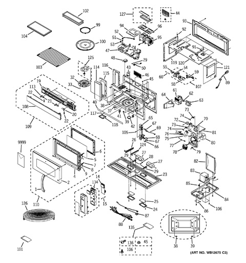 ge spacemaker microwave parts diagram audi a6 radio wiring model search jvm3670bf001