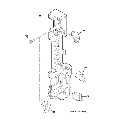 Ge Spacemaker Microwave Parts Diagram GE Triton XL Parts