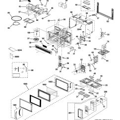 Ge Spacemaker Microwave Parts Diagram 1996 Honda Accord Ignition Switch Wiring Assembly View For Jvm1630bk01