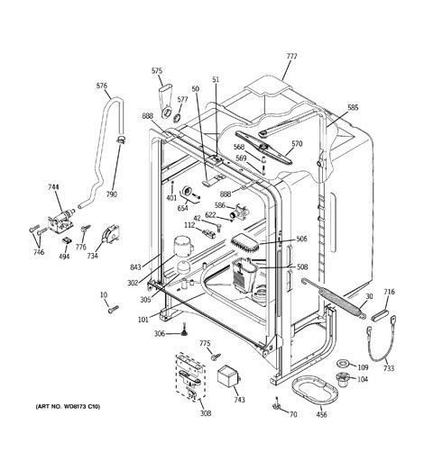 Estate Dishwasher Schematic Freezer Schematic ~ Elsavadorla
