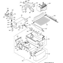 Ice Maker Diagram Capacitor Start Induction Run Motor Wiring Assembly View For And Dispenser Psc23mgmaww