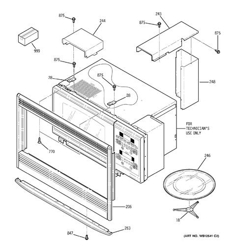 ge profile dishwasher diagrams
