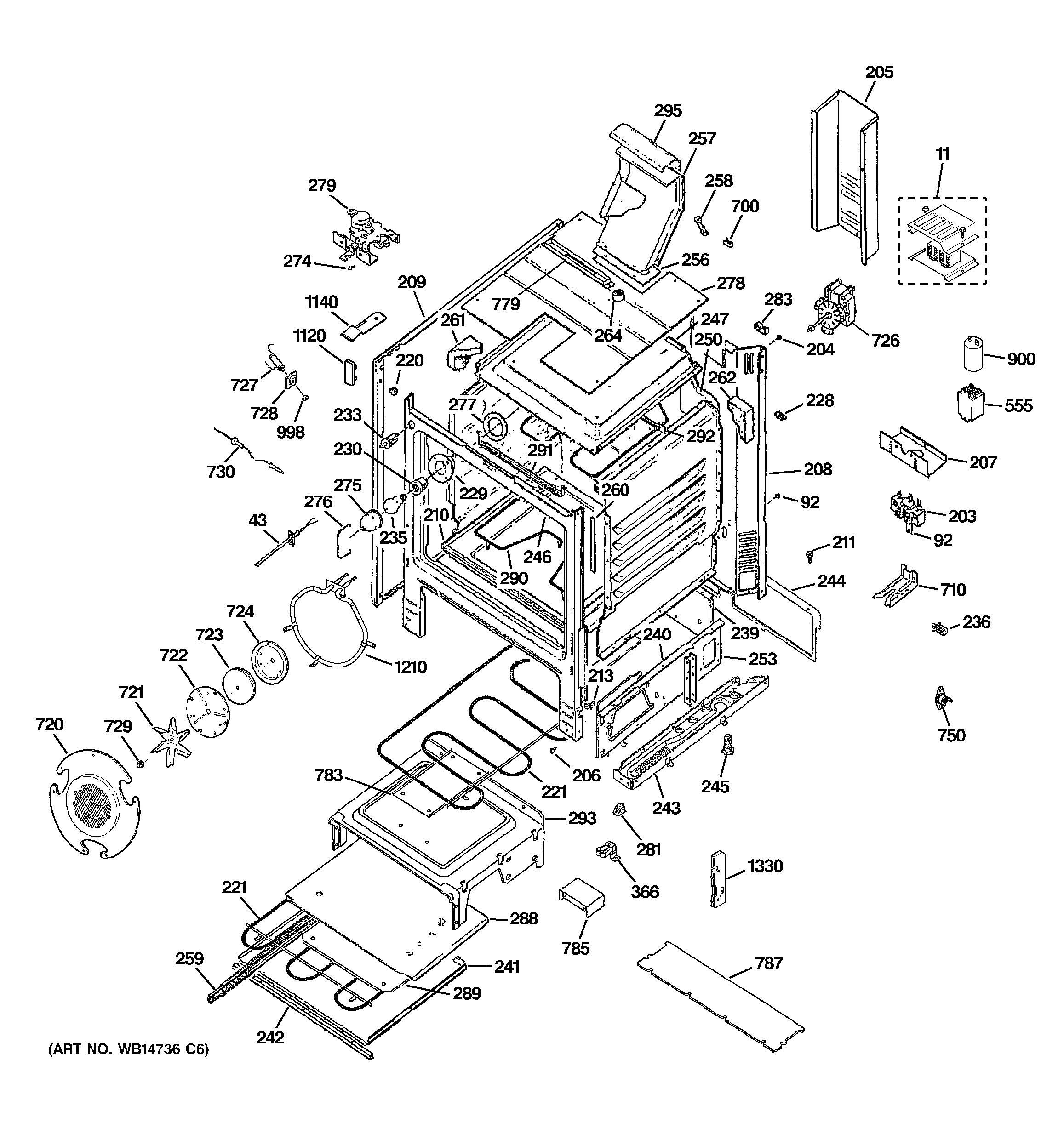 electronic relay model 50