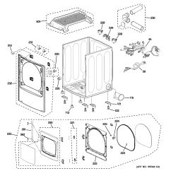 Cabinet Door Diagram 200 Amp Service Wiring Assembly View For Front Panel And Ptdn800gm0ww