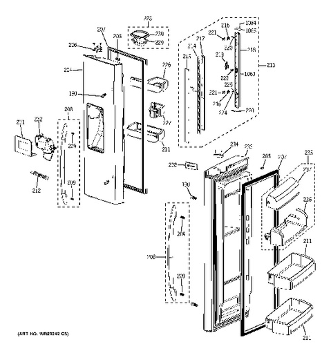 Wiring Diagram Ge Side By Side Refrigerators