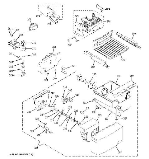 Ge Gss22 Refrigerator Wiring Schematic GE WR55X10942