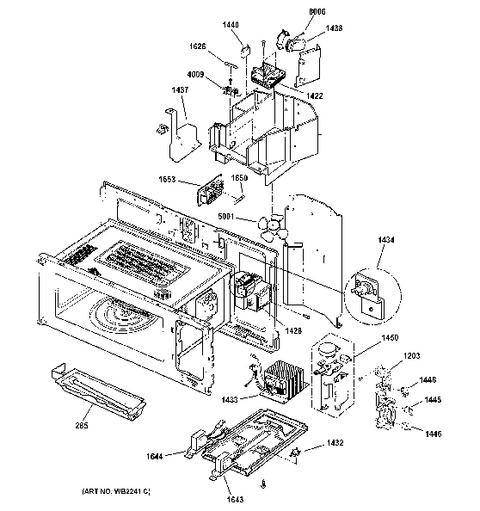 Ge Profile Advantium 120 Microwave PartsBestMicrowave