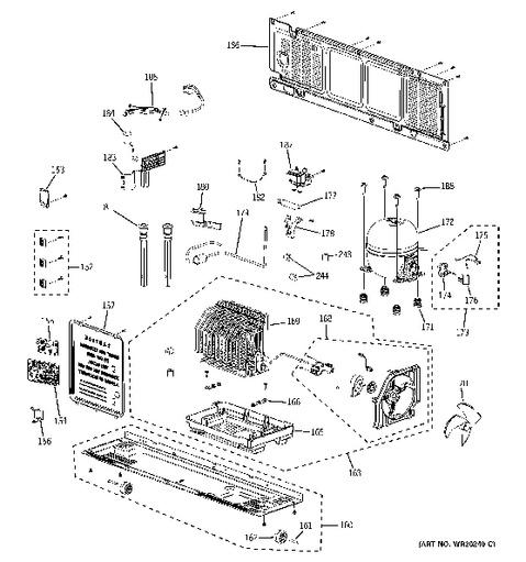 Wiring Diagram For Ge Refrigerator