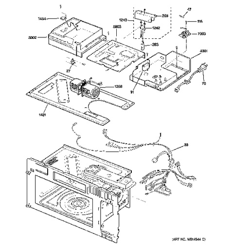 hotpoint oven wiring diagram scion xb radio general electric microwave parts – bestmicrowave