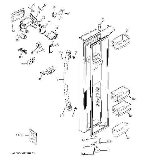 lg microwave oven circuit diagram sample phone tree model search gse25hshehss freezer door