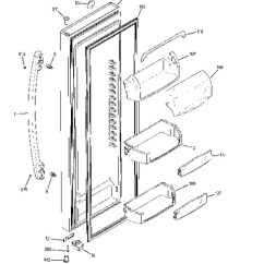 Lg Microwave Oven Circuit Diagram 7 Pin Round Trailer Wiring Australia Model Search Gse25hshehss Fresh Food Door