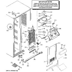 Lg Microwave Oven Circuit Diagram Wiring For 4 Way Switch Help With Ge Jasco Light Switches Connected Model Search Gse25hshehss Freezer Section