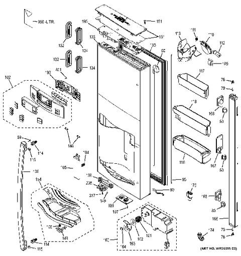 French Door » Samsung French Door Refrigerator Parts