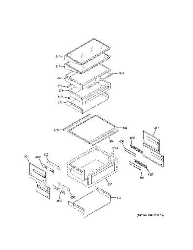 Ge Model Gfsl6kexals Profile Refrigerator Wiring Schematic