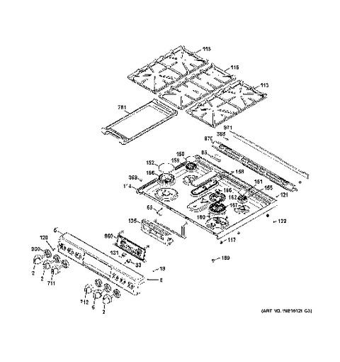 Ge Range Jbp47gv2aa Wiring Diagram : 34 Wiring Diagram