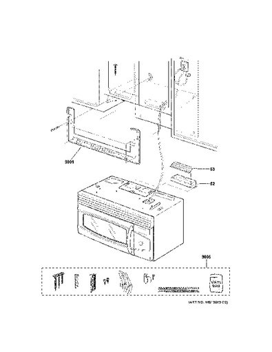Ge Microwave Mounting Kit Instructions
